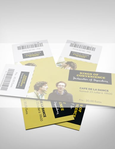 BILLETS (TICKETS)